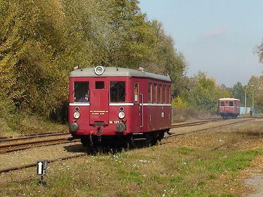 18.10.2008 - Tovačov: M131.1448 při objíždění soupravy © Jakub Gregor