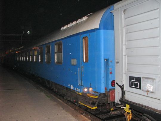 22.10.2008 - Hradec Králové hl.n.: Preventivní vlak ještě dřímá u nástupiště 1A © PhDr. Zbyněk Zlinský
