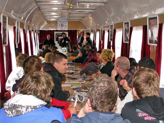 22.10.2008 - Hradec Králové hl.n.: přednáška pro neslyšící © PhDr. Zbyněk Zlinský