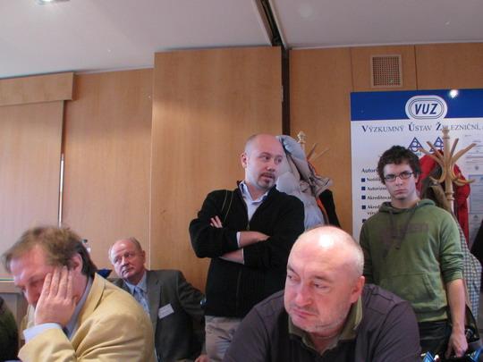 03.12.2008 - VUZ Velim: tiskový mluvčí ČD odpovídá na dotaz © PhDr. Zbyněk Zlinský