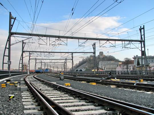 02.12.2008 - Praha: práce na Novém spojení stále pokračují © PhDr. Zbyněk Zlinský