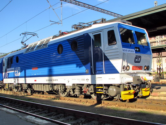 02.12.2008 - Praha Masarykovo n.: 163.257-9 v čele zvláštního vlaku © PhDr. Zbyněk Zlinský