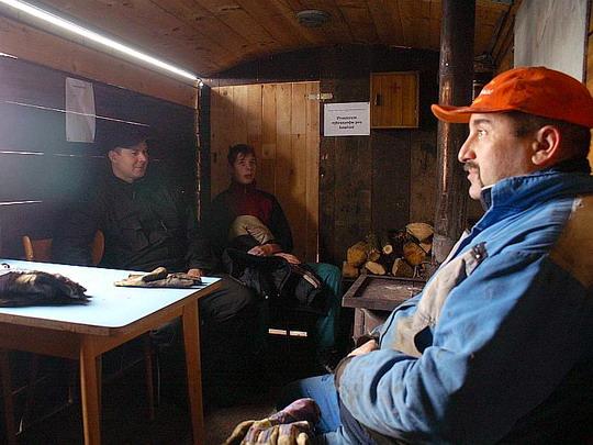 20.12.2008 - Kolínská řepařská drážka: krátká siesta v teple a suchu © Mixmouses
