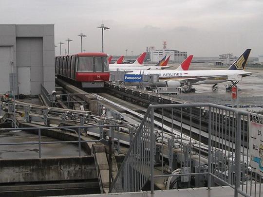 16.09.2008 - Osaka Kansai, medzinárodné letisko - © Miket