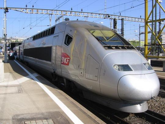8.5.2008 - Zurich, francúzske TGV 9218, Zurich - Parí� © František Hal�ák