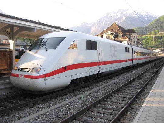 8.5.2008 - Nemecké ICE 987, Bazilej - Interlaken  © František Halčák