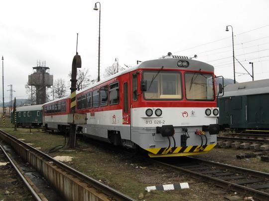 29.01.2009 - RD Žilina: odstavená 813.026-2 + 913.026-1 © Marek Širanec