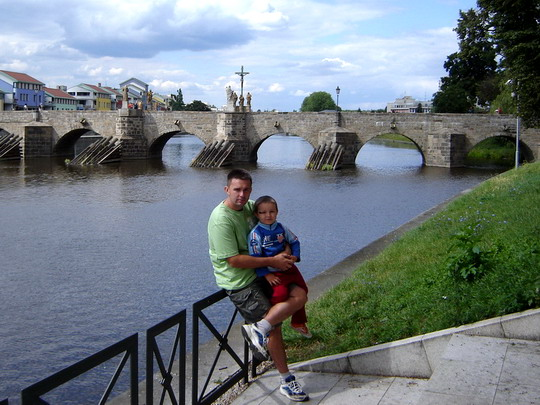 21.7.2008 - Kamenný most Písek © Mgr. R.Kadnár, riso.rds 2009