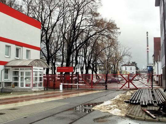 Dnešní podoba kolejového propojení vozovny s tratí SŽDC (19.01.2008 - vozovna DP Liberec) © PhDr. Zbyněk Zlinský