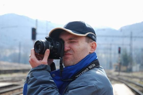Igi vo fotografovacej akcii. 7. 3. 2009 © Ivan Wlachovský