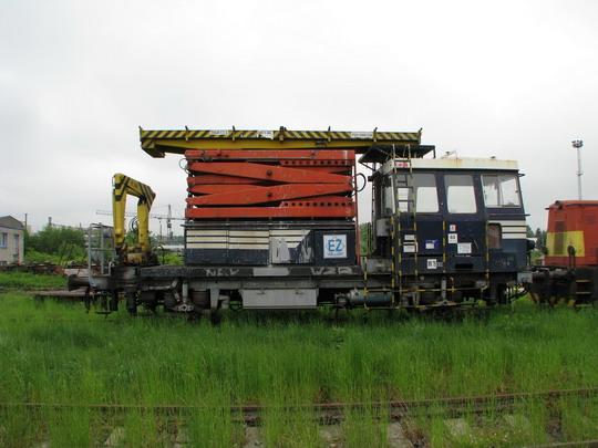 Montážní vůz MV 79.003 s hydromechanickým přenosem výkonu (22.05.2008 - Jihlava) © PhDr. Zbyněk Zlinský - ZOBRAZ!