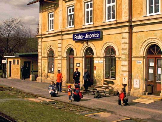 14.3.2009 - trať č.122: Stanice Praha-Jinonice ©Jiří Řechka