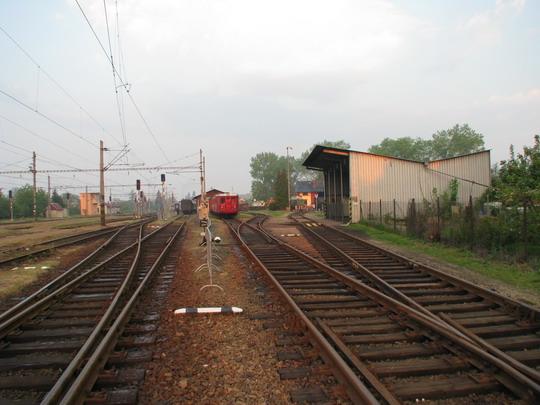 01.05.2009 - Jaroměř: probouzející se výtopna © PhDr. Zbyněk Zlinský