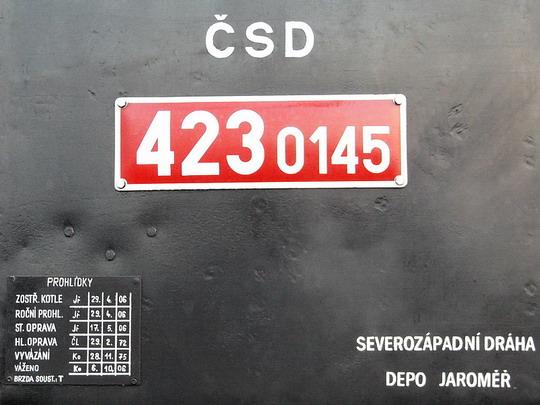 14.10.2006 - Jaroměř: 423.0145 - označení a nápisy © PhDr. Zbyněk Zlinský