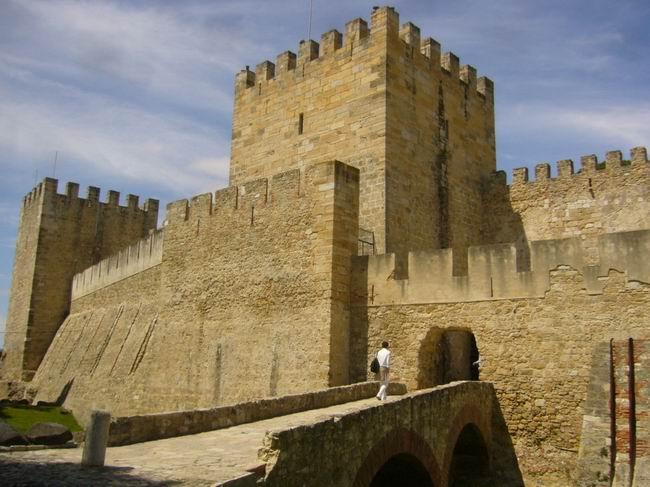 Lisabon,Castelo de Sao Jorge © Jiří Mazal