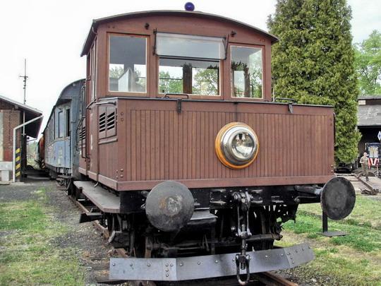 Čelo lokomotivy Ringhoffer č. 2 (5.5.2007 - Jaroměř) © PhDr. Zbyněk Zlinský