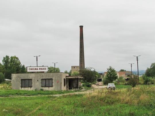 Zrušená cihelna v Pulicích dne 7.9.2008 © PhDr. Zbyněk Zlinský