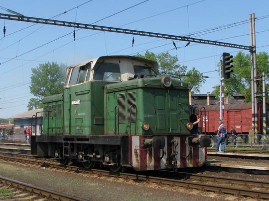 710.433-4 při posunu v jaroměřské stanici dne 2.5.2009 © PhDr. Zbyněk Zlinský