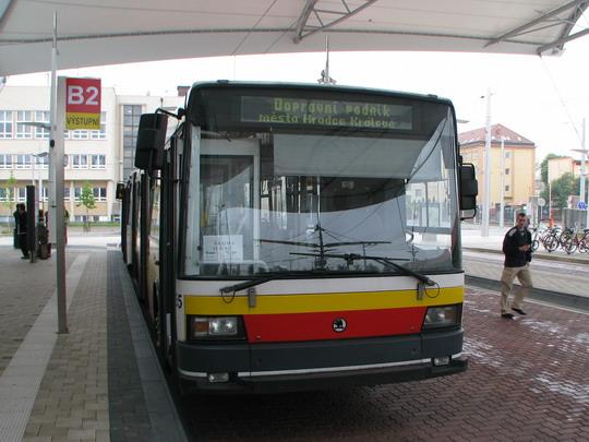 Vůz č. 55 (Škoda 21Tr AC) na výstavě trolejbusů © PhDr. Zbyněk Zlinský