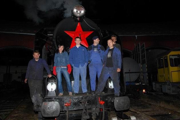 Večerné stretnutie pred nočnou akciou. 4. 6. 2009 ○ Ivan Wlachovský