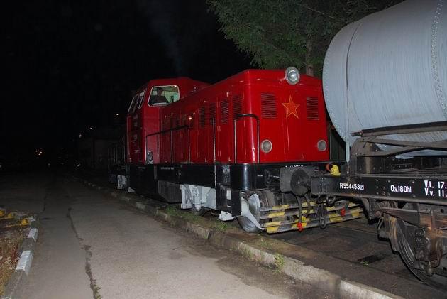 Nočný posun s Karkulkou. 5. 6. 2009 ○ Ivan Wlachovský.