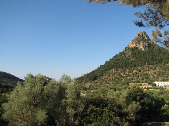 03.06.2009 - traťový úsek Bunyola - Mirador Pujol de'n Banya: pohled do krajiny © PhDr. Zbyněk Zlinský