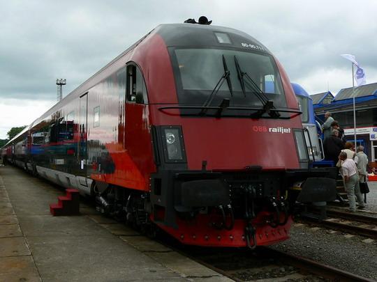 16.6.2009 - Ostrava: Railjet © Karel Furiš
