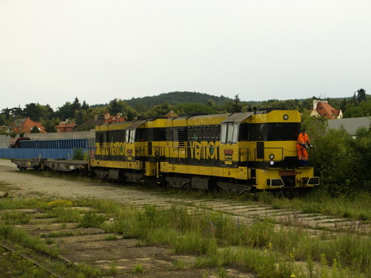 20.6.2009 - nádraží Praha-Krč: dvojče Viamontu se vrací zpět © Jiří Řechka