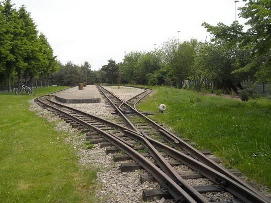 Stanica Gennevilliers, Chemin de fer des Chanteraines, 10.5.2009, © Peter �ídek