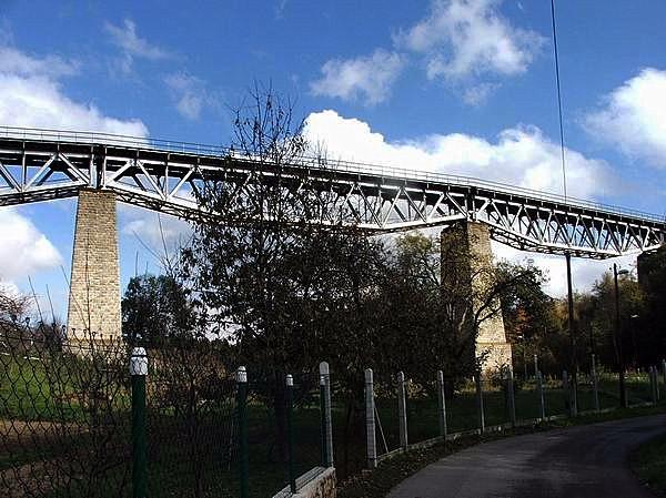 Myjavský viadukt.