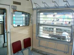 Koženkový interiér oddílu pro cestující (460.009-4, 29.04.2009 - Ostrava) © Karel Furiš - ZOBRAZ!