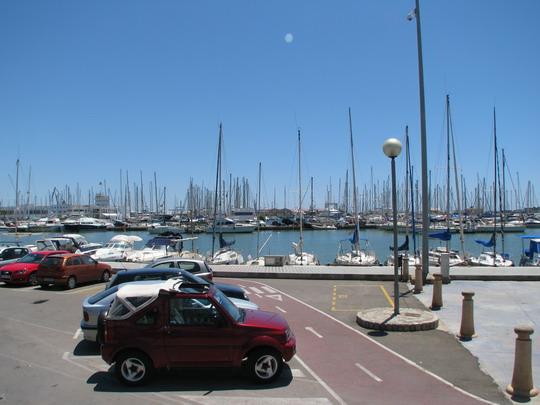 11.06.2009 - Palma: cyklostezka podél přístavu na Avinguda de Gabriel Roca © PhDr. Zbyněk Zlinský
