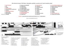 Plán nádraží FCM Palma z roku 1940, zdroj: www.trensdemallorca.com - ZOBRAZ!