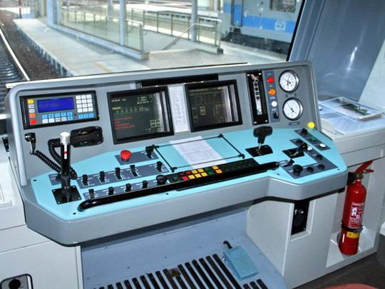Stanoviště řídicího vozu 971.024-5, 26.8.2007 - Ostrava Svinov © Igor Molnár