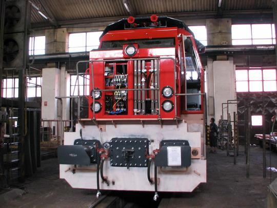 Rozestavěná 724.807-3 pro Třinecké železárny © PhDr. Zbyněk Zlinský