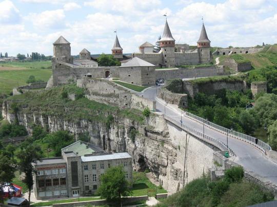 20.07.2009 - Kamenec Podolskij - hrad s opevnením © František Halčák