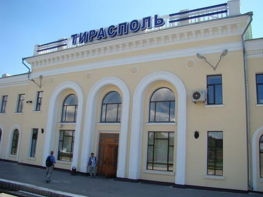 21.07.2009 - Žel. stanica Tiraspol © František Halčák