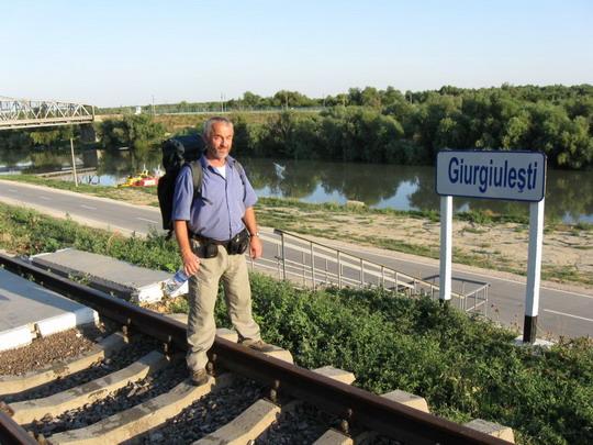 22.07.2009 - Giurgiulesti - konečná, vystupovať © František Halčák