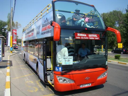 25.07.2009 - Letovisko Mamaia, vyhliadkový autobus do Konstanci © František Halčák