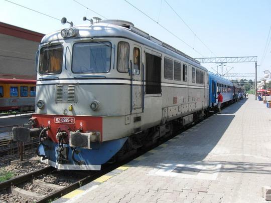 25.07.2009 - Konstanca, žel. stanica, vlak P 8803 do Mangalie © František Halčák