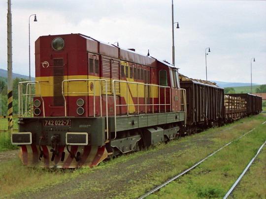 03.06.2004 - Rimavská Bańa 742.022 © Václav Vyskočil