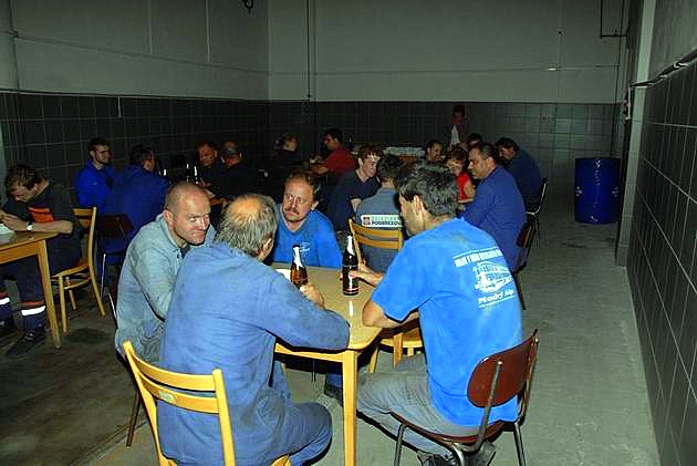 Jedáleň v rotunde RD Zvolen