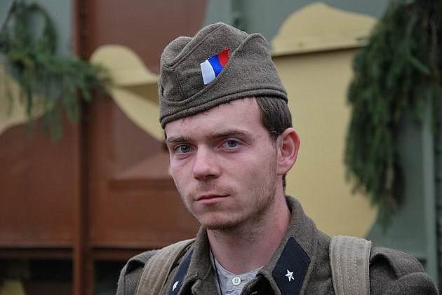 Vojak povstaleckej armády.