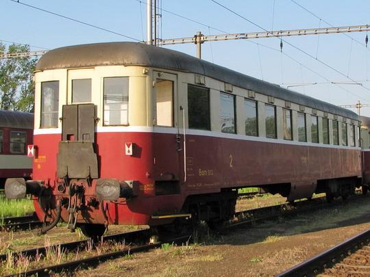 Historický vůz Bam 5113 (ex Bam 70 54 21-29 042-4, ex Calm 4-7075) v Jaroměři dne 3.5.2009 © PhDr. Zbyněk Zlinský