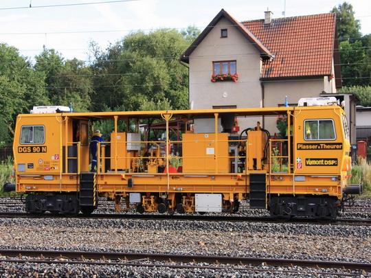 DGS 90 N vSokolově dne 20.7.2009 © Tomáš Polívka