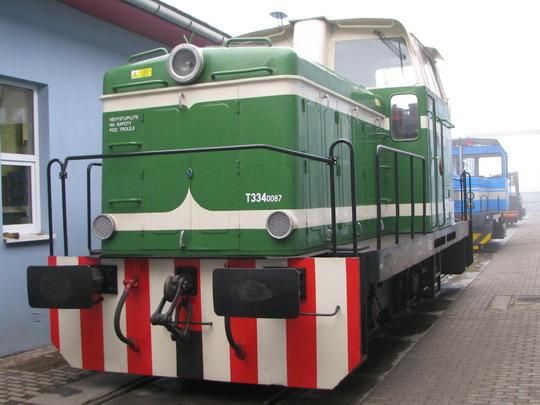 """""""Rosnička"""" T 334.0087, provozovaná DBV-ITL, s.r.o. Kolín © PhDr. Zbyněk Zlinský"""