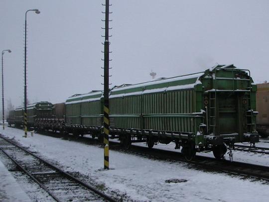 Část vlečky Stora Enso Timber Ždírec, s.r.o. (foto z Os 5301) © PhDr. Zbyněk Zlinský