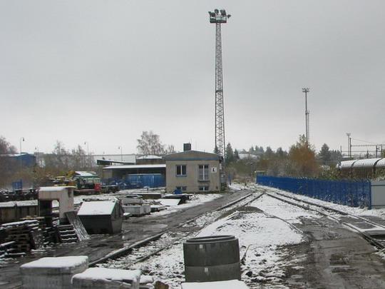Nové olocení areálu CZ LOKO Jihlava (4.11.2009) © PhDr. Zbyněk Zlinský
