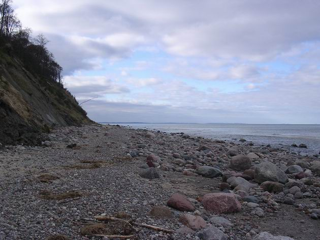 Kamenitá část baltského pobřeží. 31.10.2009 © Aleš Svoboda