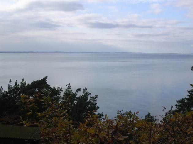 Pohled na moře a ostrov Usedom z útesu Kawcza Góra. 31.10.2009 © Aleš Svoboda